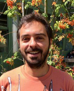 Joanito Liberti, první autor publikace. Toho času na University of Lausane, Švýcarsko.