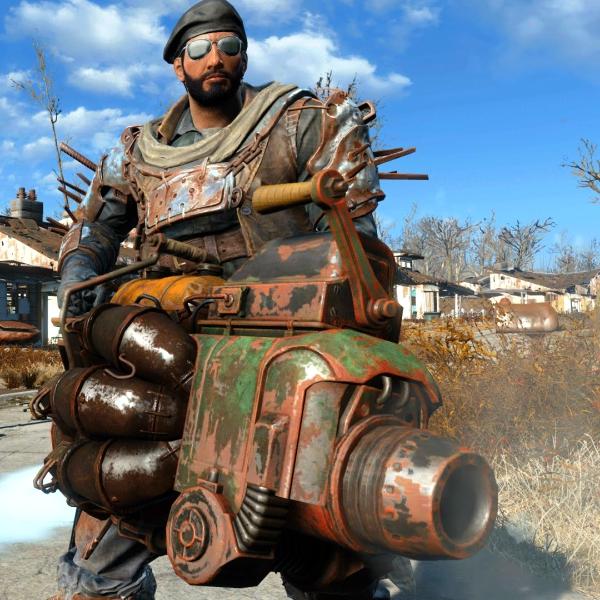 Fallout 4: Junk Jet. Kredit: Bethesda Sotfworks.