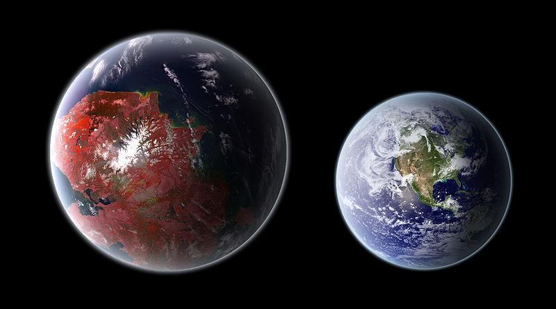 Kolem nás je nejspíš spousta světů podobných Zemi. Kredit: Ph03nix1986 / Wikimedia Commons.
