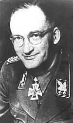 Kurt von Gottberg, SS-Obergruppenführer und General der Waffen SS (Kredit: Naše Vojsko)
