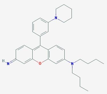 """Mito Thermo Yellow (MTY). Fluorescenční barva používaná v mikroskopii. Je citlivá na teplo a tak ji lze využít jako teploměr ke zjišťování poměrů uvnitř struktur v buňce. S její pomocí se podařilo zjistit, jak vnitřek mitochondrií """"sálá""""."""