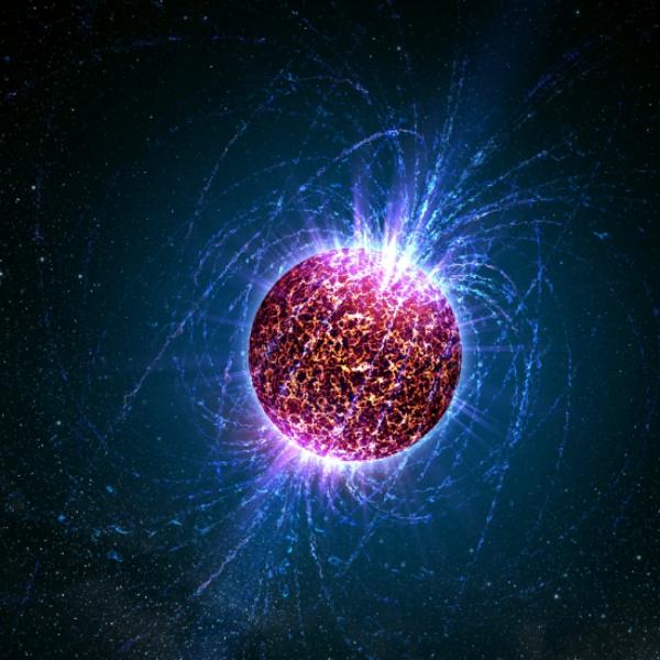 Dochází vokolí neutronových hvězd ke dvojlomu vakua? Kredit: NASA.