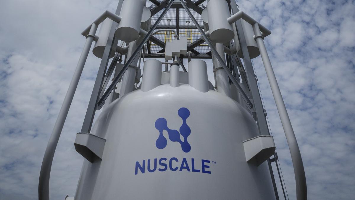 Zajistí jaderné moduly vodík pro vodíkovou enegetiku? Kredit: NuScale.