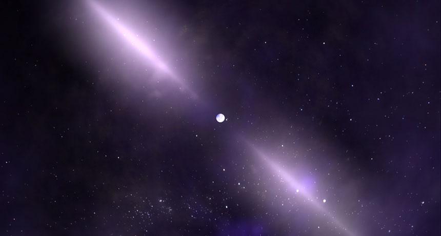 První pulzar objevila severoirská radioastronomka Susan Jocelyn Bellová – Burnellová koncem roku 1967. Kredit: NASA'S GODDARD SPACE FLIGHT CENTER.