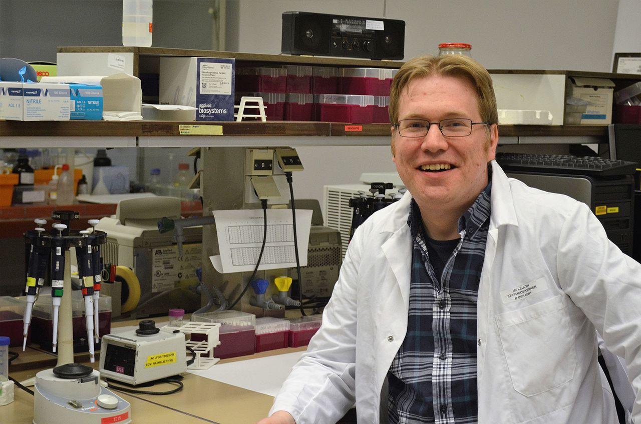 Maarten HD Larmuseau, vedoucí výzkumného týmu na KU Leuven, první autor studie. Kreit: Sofiecl, Wikipedia.