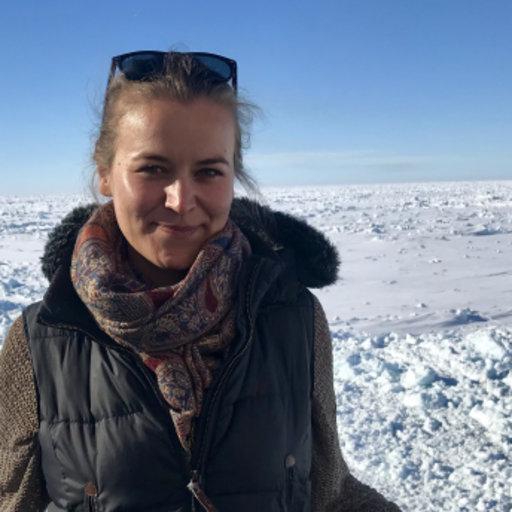 Ricarda Dziadek. První autorka studie. Kredit: Alfred Wegener Institute Helmholtz Center for Polar and Marine Research.