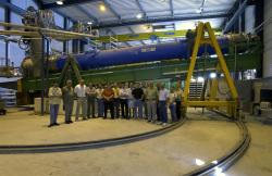 Experiment CERN Axion Solar Telescope. Kredit: CERN.