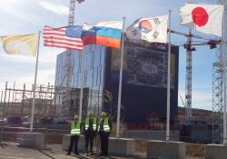 Staveniště ITER, červen 2016