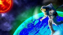 Najdeme světélkující exoplanety? Kredit: Wendy Kenigsberg/Matt Fondeur/Cornell University.