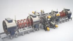 Fúzní reaktor surychlovačem částic. Kredit: TAE Technologies.