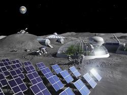 ESA se chystá na Měsíc. Kredit: ESA.
