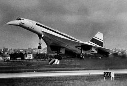 První let Concordu, 2. března 1969. Kredit: André Cros / Wikimedia Commons.