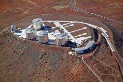 Very Large Telescope vChile. Kredit: ESO / Wikimedia Commons.
