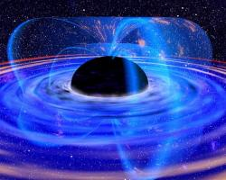Dokážeme vytvořit magnetické pole podobné síly, jako černé díry? Kredit: Dana Berry/NASA.