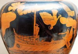 Odysseus a Sirény. Kredit: Jastrow / Wikimedia Commons, veřejná doména.