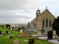 Dnes katolický kostel Sacred Heart Church vBoho, odkud pocházely studované vzorky. Kredit: Youngbohemian / Wikimedia Commons.