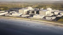 Budoucí elektrárna Hinkley Point C (zdroj EDF).