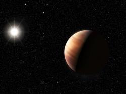 Exoplaneta 51 Pegasi b v úměleckých představách (zdroj ESO).