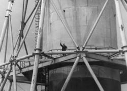 Jedna z historických fotografií (zdroj Černobylská jaderná elektrárna).