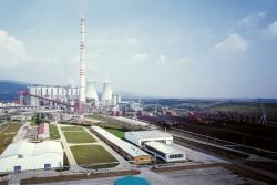 Mezi ekologizované zdroje patří elektrárna Prunéřov (zdroj ČEZ).