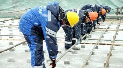Příprava betonáží druhého bloku Kursk II (zdroj Rosatom).