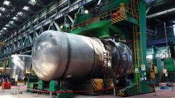 Reaktorová nádoba pro první blok elektrárny Rooppur (zdroj Rosatom).
