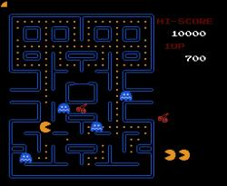 Černé díry hvězdné velikosti hrají Pac-Mana. Kredit: Namco.