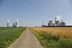 Uhelná elektrárna Neurath patří k největším v Evropě (zdroj Wikimedia).
