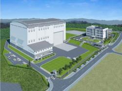 Předpokládaný vzhled nového centra pro vývoj robotů (zdroj JAEA)