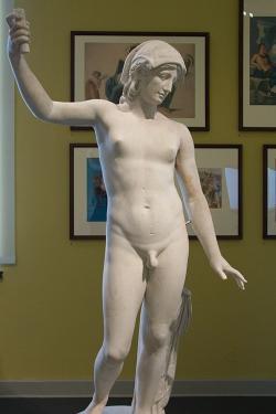 Androgyn (Hermafrodit). 120-140 n. l. Kredit: Wikimedia Commons.