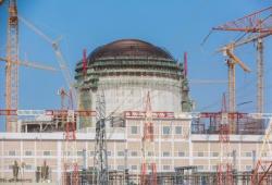 Druhý blok elektrárny Barakah (zdroj Enec).