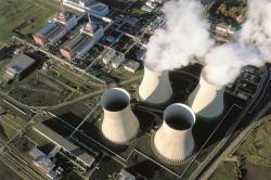 Největším nízkoemisním zdrojem v České republice je v současnosti jaderná elektrárna Temelín (zdroj ČEZ).