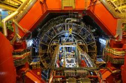 Upgrade experiementu ALICE. Kredit: CERN.