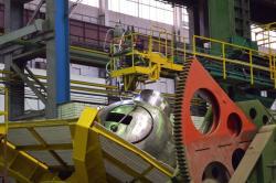 Komponenty čerpadel pro elektrárnu Rooppur vyrobené firmou Atomenergomaš (zdroj Atomenergomaš).