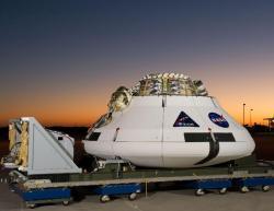 Maketa kosmické lodi Orion (zdroj NASA).