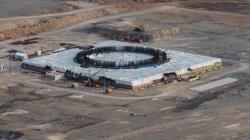 Začátkem roku 2019 se podařilo dokončit betonáž základové desky prvního bloku jaderné elektrárny Akkuyu (zdroj Rosatom).