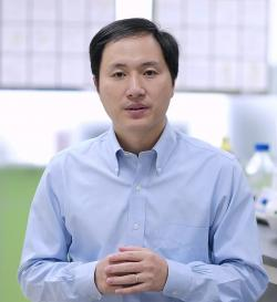 Dr. Jiankui He. Kredit: The He Lab