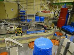 Budování třetího bloku jaderné elektrárny Mochovce se dostalo do finále, je již hotov z více než 90 % (zdroj Mochovce).
