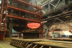 Podnik Atommaš dokončil dno reaktorové nádoby pro první blok turecké jaderné elektrárny Akkuyu (zdroj Atommaš).