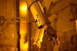 Proběhly první studené testy objektu nového suchého úložiště pro vyhořelé palivo z ukrajinských reaktorů VVER (zdroj Černobylská jaderná elektrárna).