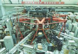 Vylepšený tokamak HL-2M. Kredit: Institute of Plasma Physics.