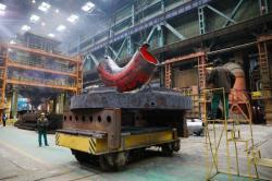 Potrubí pro elektrárnu Akuya se vyrábí v ve volgodonské pobočce firmy Atomenergomaš (zdroj Atomenergomaš).