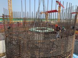 Zahájení práce na reaktorové budově bloku Rooppur 2 (zdroj Rosatom).