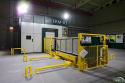 Zařízení pro uvolňování materiálů z kontrolovaného režimu dodané firmou VF a.s. (zdroj Černobylská jaderná elektrárna).