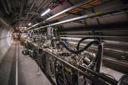 Experiment TOTEM. Kredit: CERN