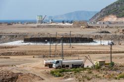 Staveniště elektrárny Akkuyu (zdroj Rosenergoatom).