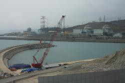 Záběr na bloky komplexu Shin Kori od university KINGS (zdroj Igor Jex).