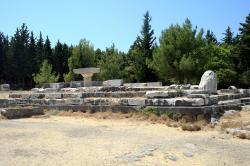 Zbytky Asklépiova chrámu na ostrově Kós. Kredit: Wikimedia Commons .