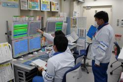Dálkové ovládání dočišťování radioaktivní vody (zdroj TEPCO).