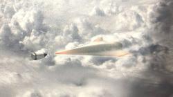 Jak zastavit hypersonický kluzák? Kredit: DARPA.